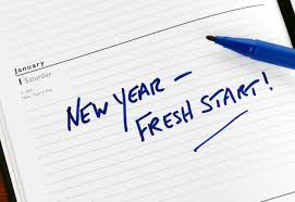 nieuwe jaar starten